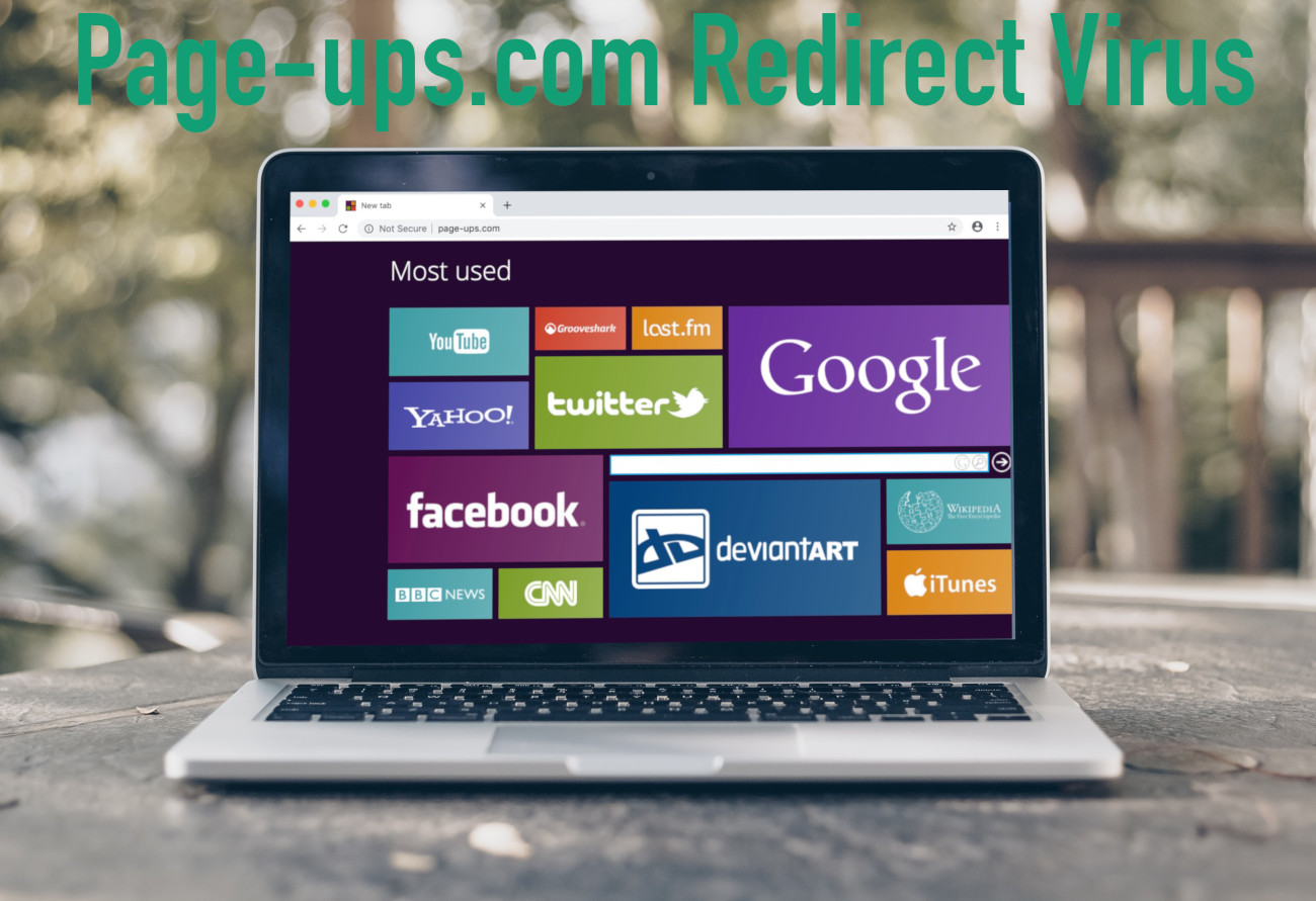 Page-ups com Redirect Virus - How to remove - 2-viruses com