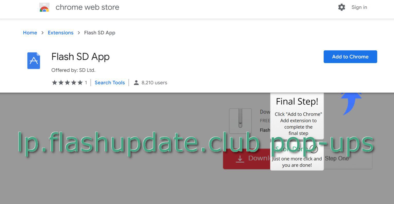 lp flashupdate club pop-ups - How to remove - 2-viruses com