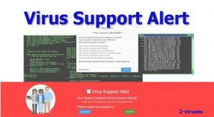 """Virus Support Alert"" Scam"