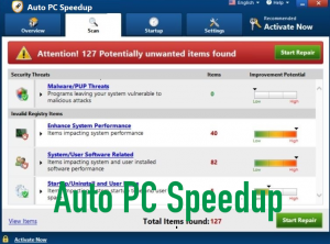 Auto PC Speedup