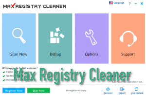 Max Registry Cleaner