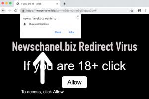 Newschanel.biz Redirect Virus