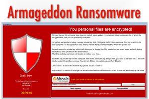 Armageddon Ransomware