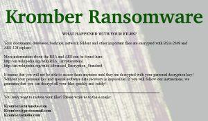 Kromber Ransomware