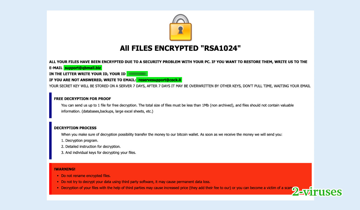 Nqix Ransomware - How to remove - 2-viruses com