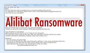 Alilibat Ransomware