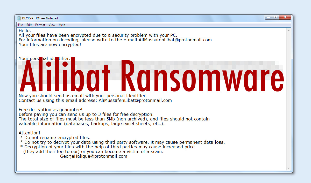 Alilibat Ransomware - How to remove - 2-viruses com