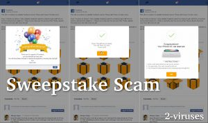 Facebook iPhone XS Sweepstake Scam