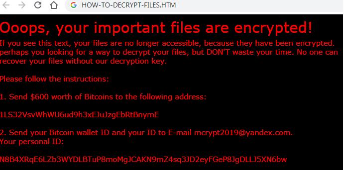 How To Decrypt Files