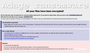 Adage Cryptovirus
