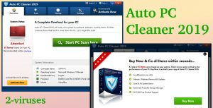 Auto PC Cleaner 2019 PUP