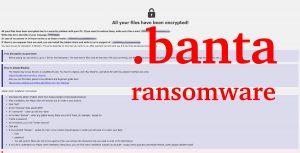 Banta Ransomware