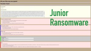 Junior Ransomware