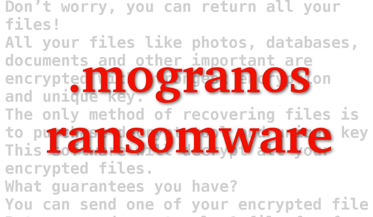 Mogranos Ransomware - How to remove - 2-viruses com