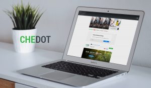 Chedot browser Ads