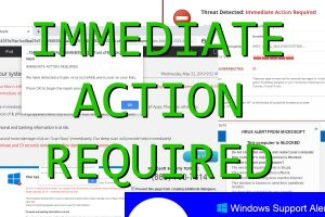 """""""Immediate Action Required"""" Warnings"""