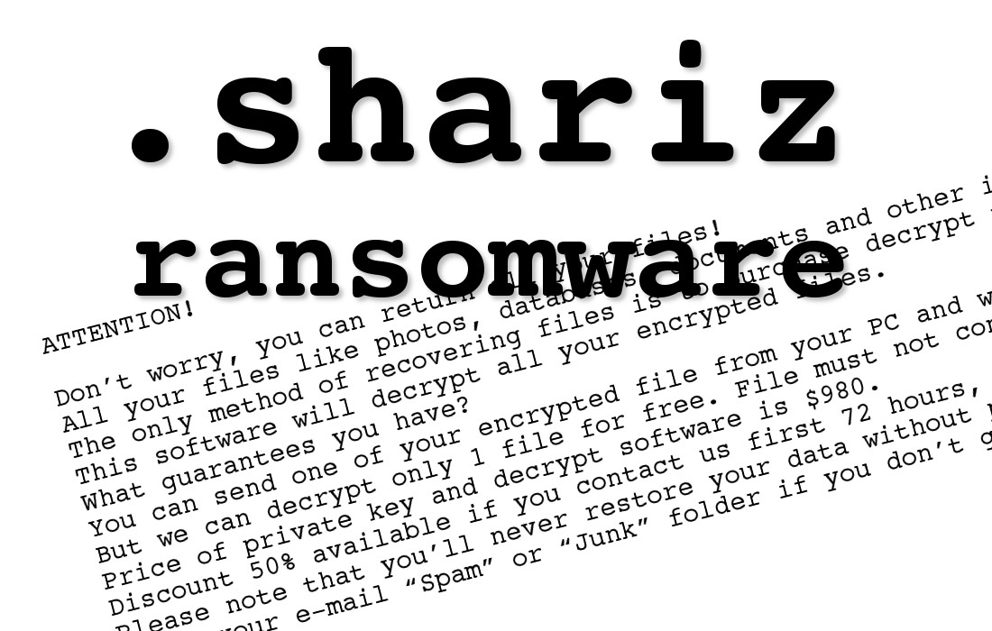 Shariz File Locker - How to remove - 2-viruses com