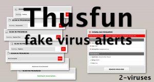 Thusfun.live Virus Warnings