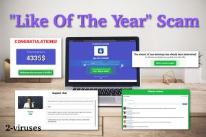 """""""Like Of The Year"""" Award Scam"""