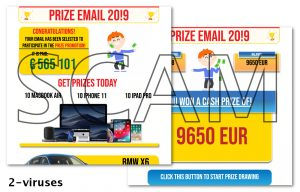 Prize Email 2019 Scam