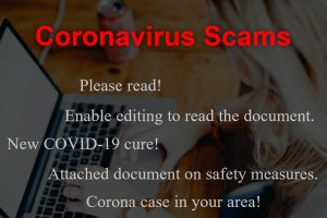 COVID-19 Email Scams