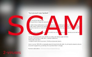 """""""Your account was hacked!"""" Scam Emails"""