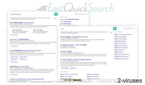 Fastquicksearch.com Ads and Redirects