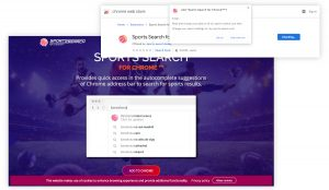 Sports Search for Chrome™
