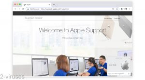 Contact-apple.net Fake Support