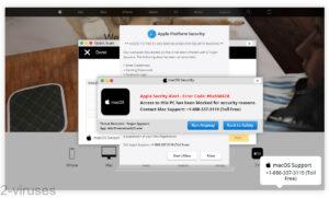 Fake Warnings - Apple Security Alert