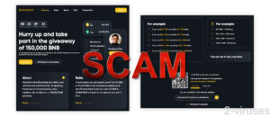 BNB Giveaway Scam