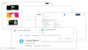 Coinup.org Search Redirects