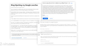 Bing Hijacker Virus