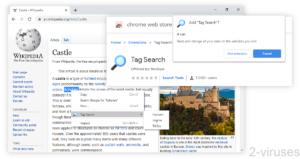 Tag Search Adware