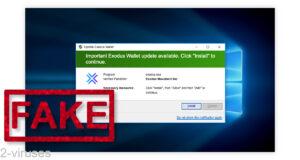 Exodus Wallet Scam