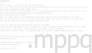 Mppq Ransomware