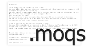Moqs Ransomware