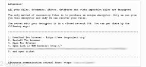 BitRansomware File Locker